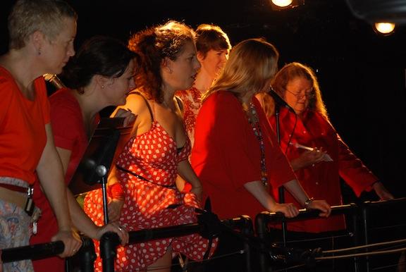Singersinbalcony